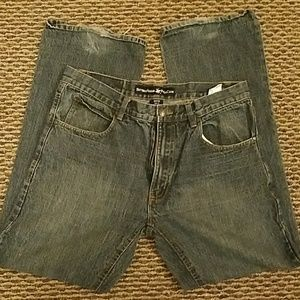 BEVERLY HILLS POLO CLUB JEANS DENIM SIZE 32 X 32